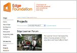 Image of Edge web site
